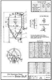 3.5 bbl conical fermentor Fermenter sold by BC Packaging Service Brew-Stuff