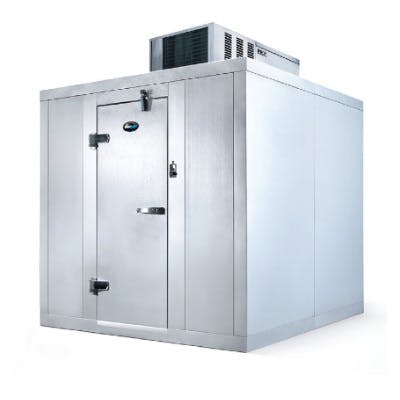 AmeriKooler Quick-Ship Walk In Cooler (6' x 8') - sold by pizzaovens.com