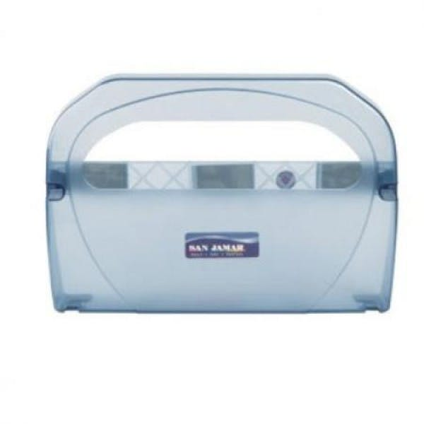 Blue Plastic Toilet Seat Cover Dispenser