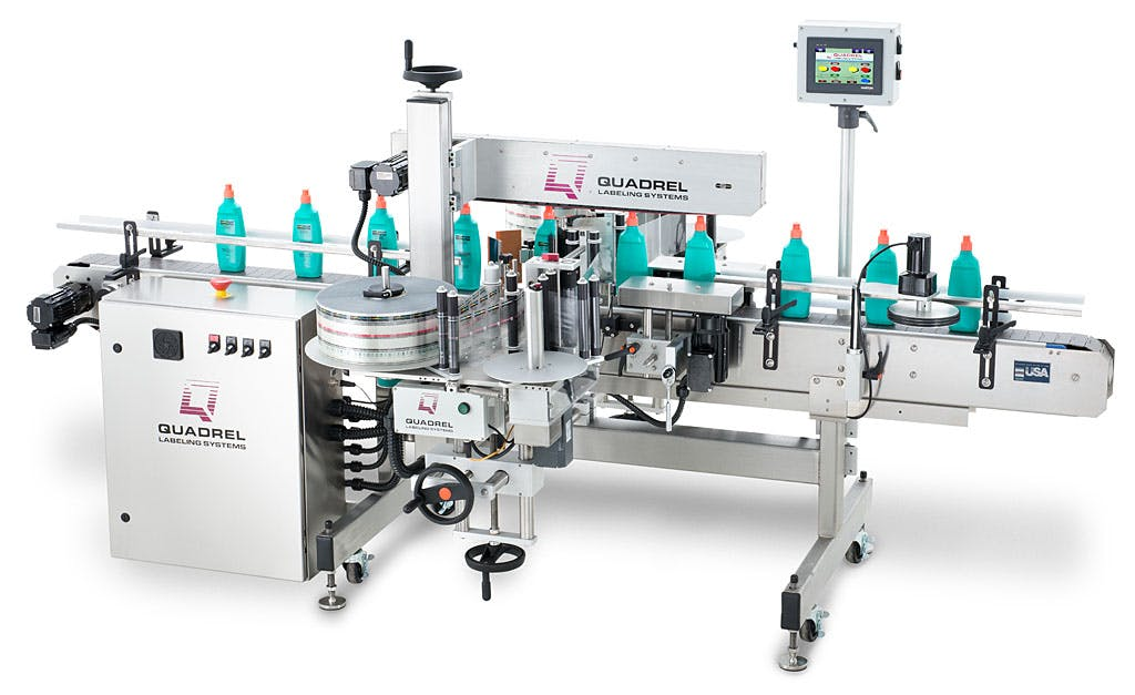 Techline Front/Back Labeler - sold by BPM SYSTEMS