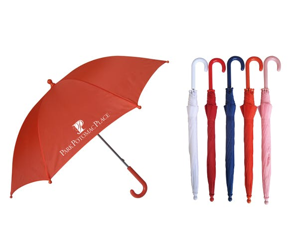 Solid Color Manual Open Kids Umbrella (Item # FBINM-HBRUL) Umbrella sold by InkEasy