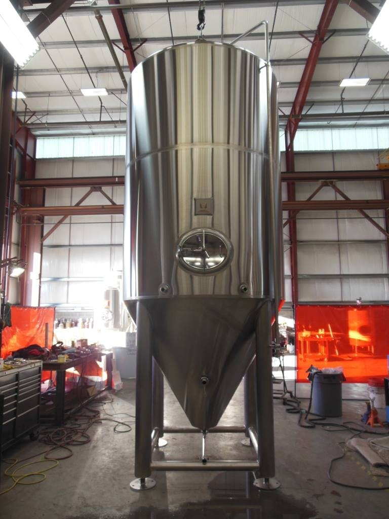 60 bbl fermenter Fermenter sold by Marks Design and Metalworks