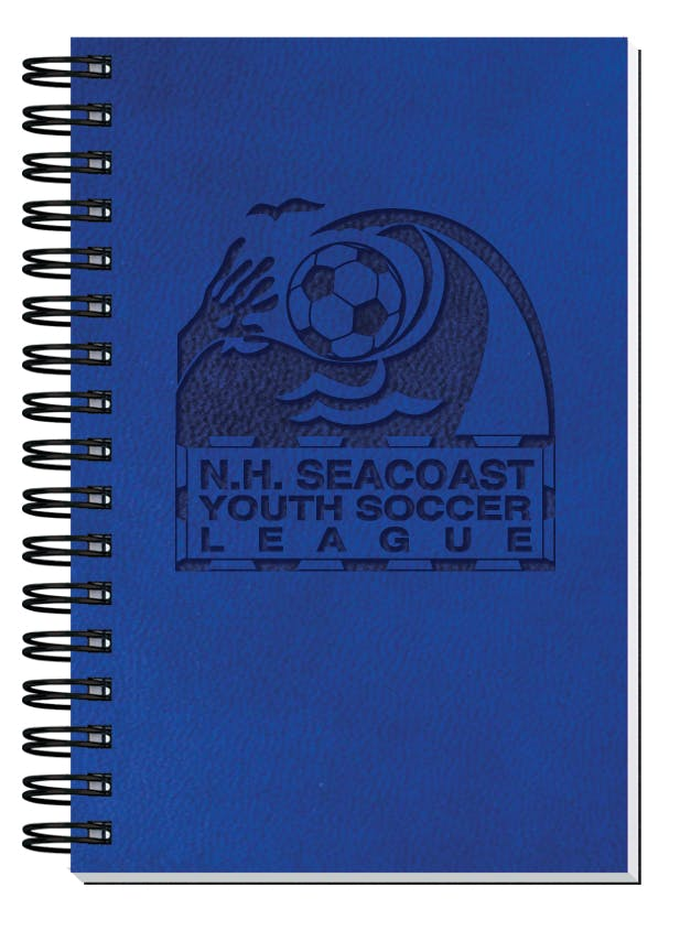 "50 Sheet Executive Journal, Pen Safe W/ Pen (4""X6"") Custom calendar sold by Dechan, Inc. II"