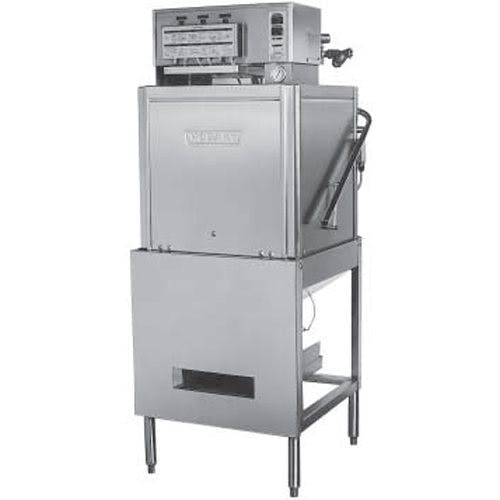 Hobart LT1-1 Dishwasher, Door Type, Low Temp, Fill and Dump Chemical Sanitizing Commercial dishwasher sold by Mission Restaurant Supply