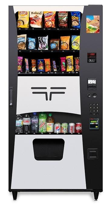 20 Snack/ 9 Drink Combination Machine Vending machine sold by Universal Vending Consultants