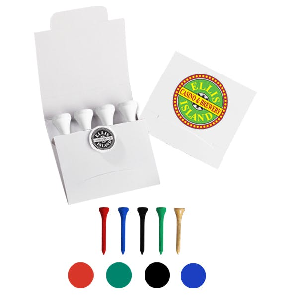 Pebble Golf Kit - Full Color Cover Promotional product sold by MicrobrewMarketing.com