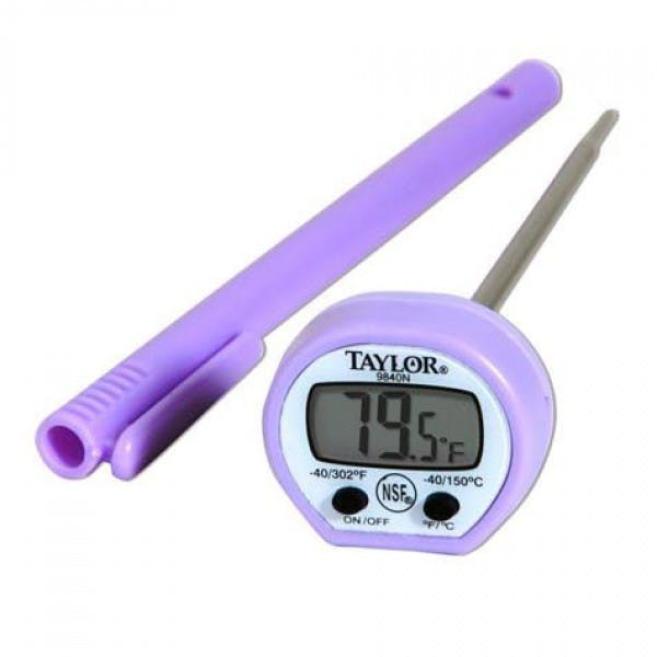 Allergen -40F to 302F Digital Pocket Thermometer