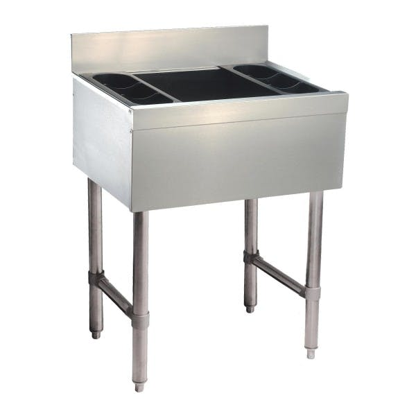 "36"" Stainless Cocktail Unit"