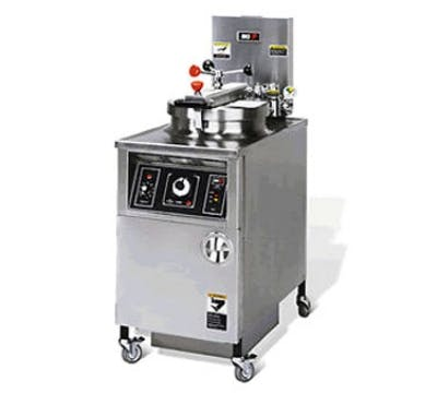 BKI LPF Large Volume Electric Fryer (48 lbs oil capacity) Commercial fryer sold by pizzaovens.com