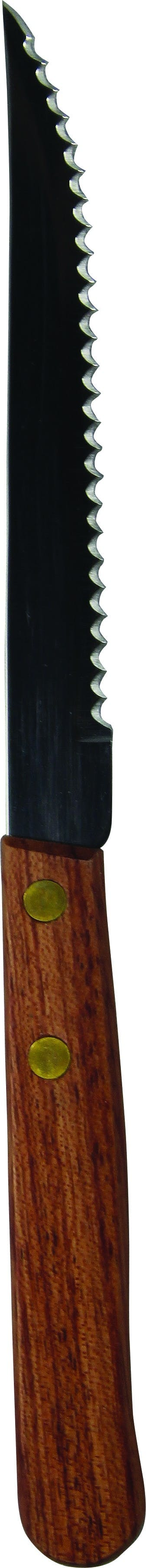 """8.5"""" Pointed Tip Steak Knife with Rosewood Handle Flatware sold by Prestige Glassware"""