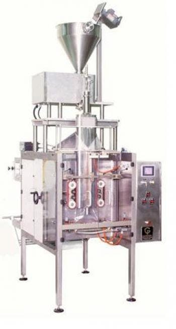 Vertical Filler and Sealer 642W Bottle filler sold by MSM Packaging Solutions