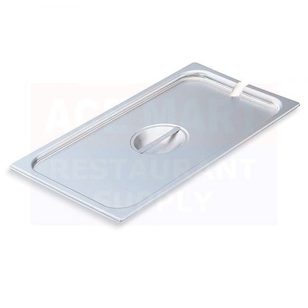 Fourth Size Stainless Slotted Steam Table Pan Cover
