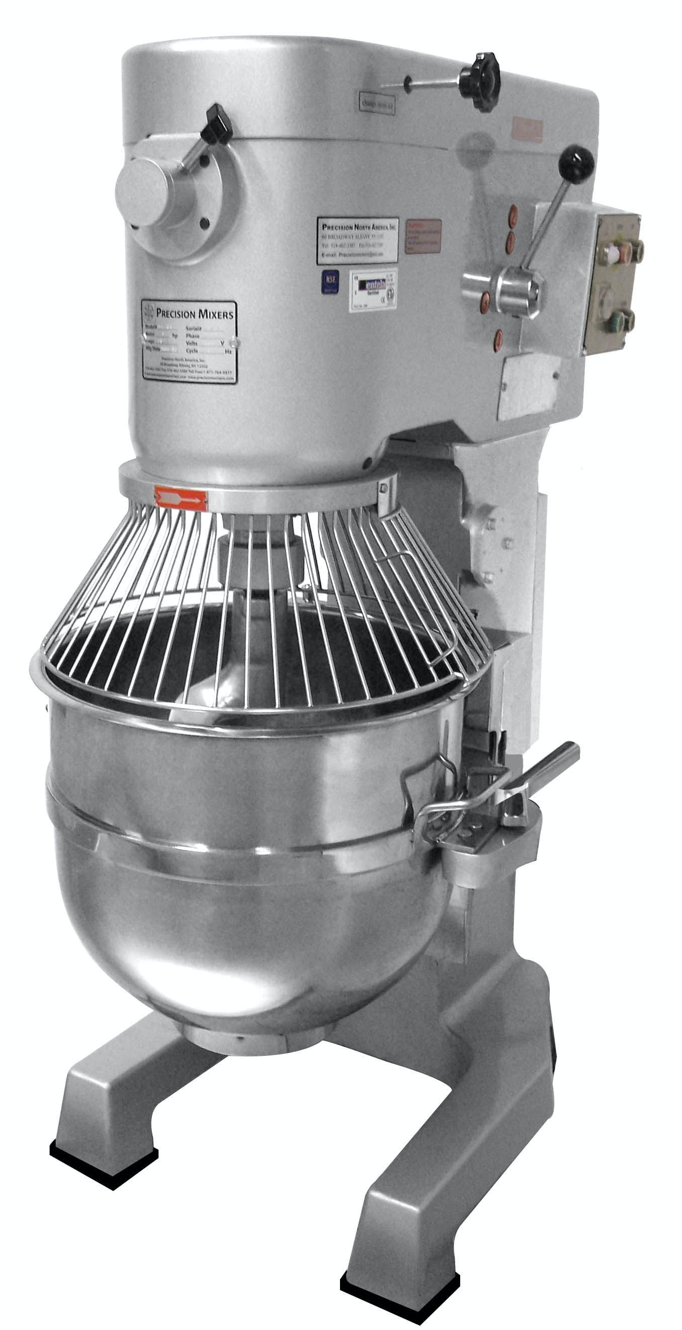 V-80EL Mixer sold by Precision North America Food Machinery
