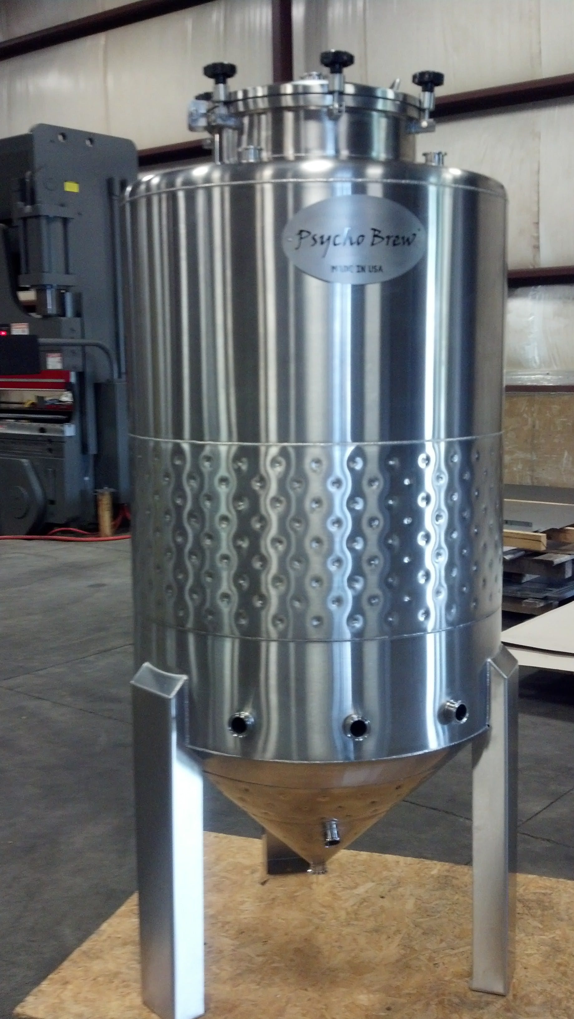 5 bbl Conical Jacketed Fermenter Fermenter sold by Psycho Brew