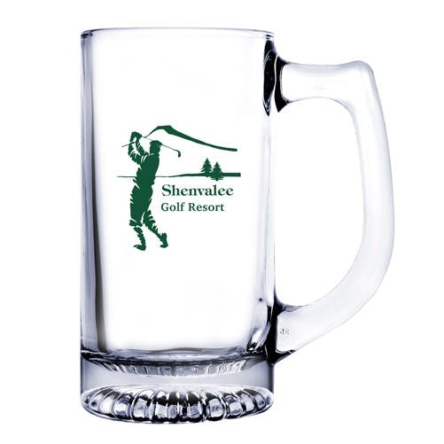 13 oz Glass Beer Mug (Etch)