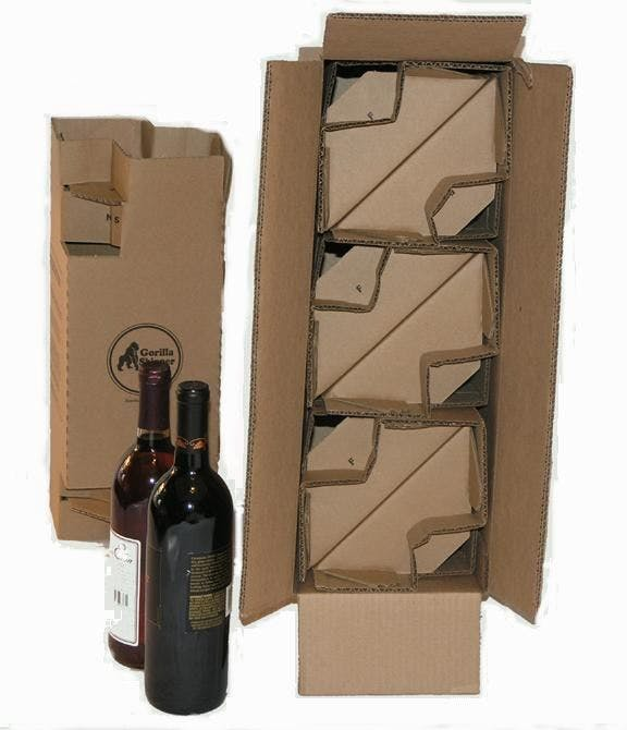 GSHBXC 6 Botte Wine Pack Wine shipper sold by Gorilla Shipper
