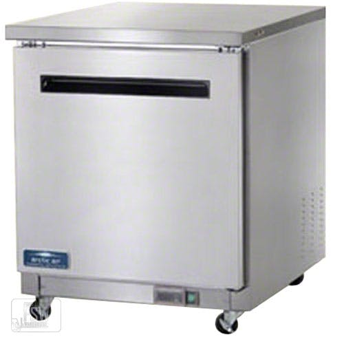 "Arctic Air - AUC27R 27-7/8"" Single Door Undercounter Worktop Refrigerator Commercial refrigerator sold by Food Service Warehouse"