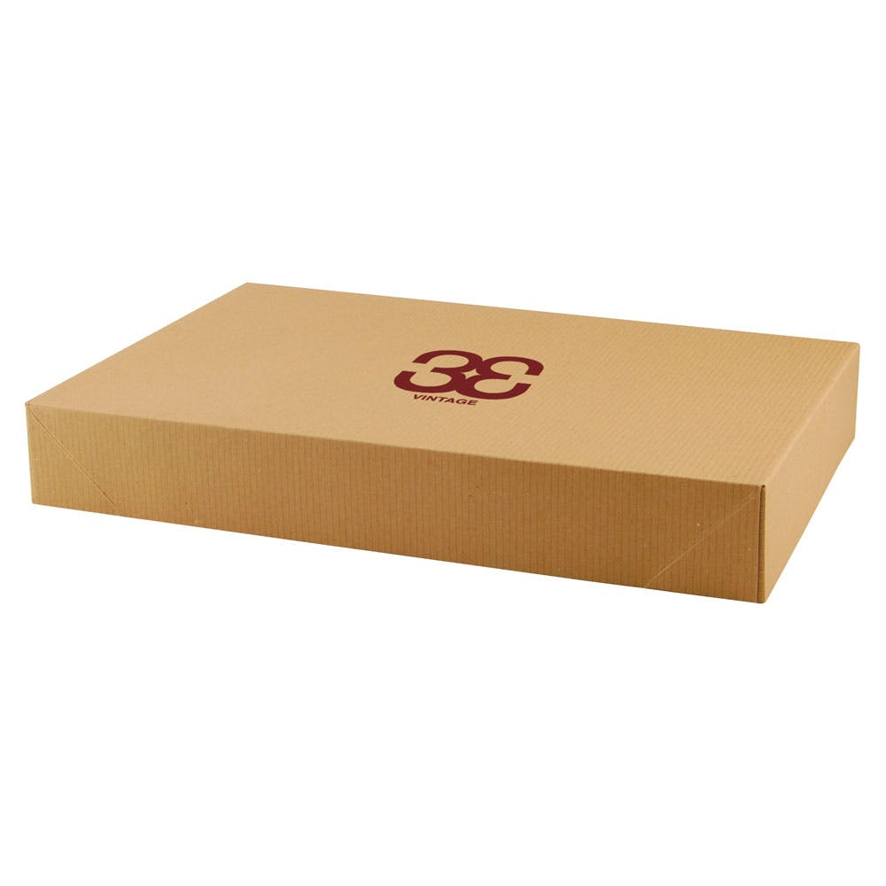 Natural Brown Apparel Box (Item # FHLLM-IUIAP) Custom box sold by InkEasy