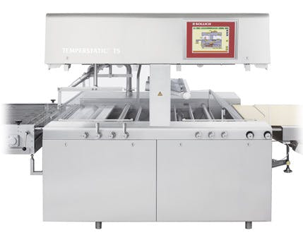 Sollich Temperstatic T5 Chocolate enrober sold by Sollich North America