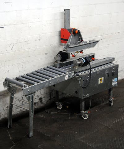 SOCO SYSTEM MODEL T-10 CARTON SEALER & TAPER Case sealer/taper sold by Union Standard Equipment Co