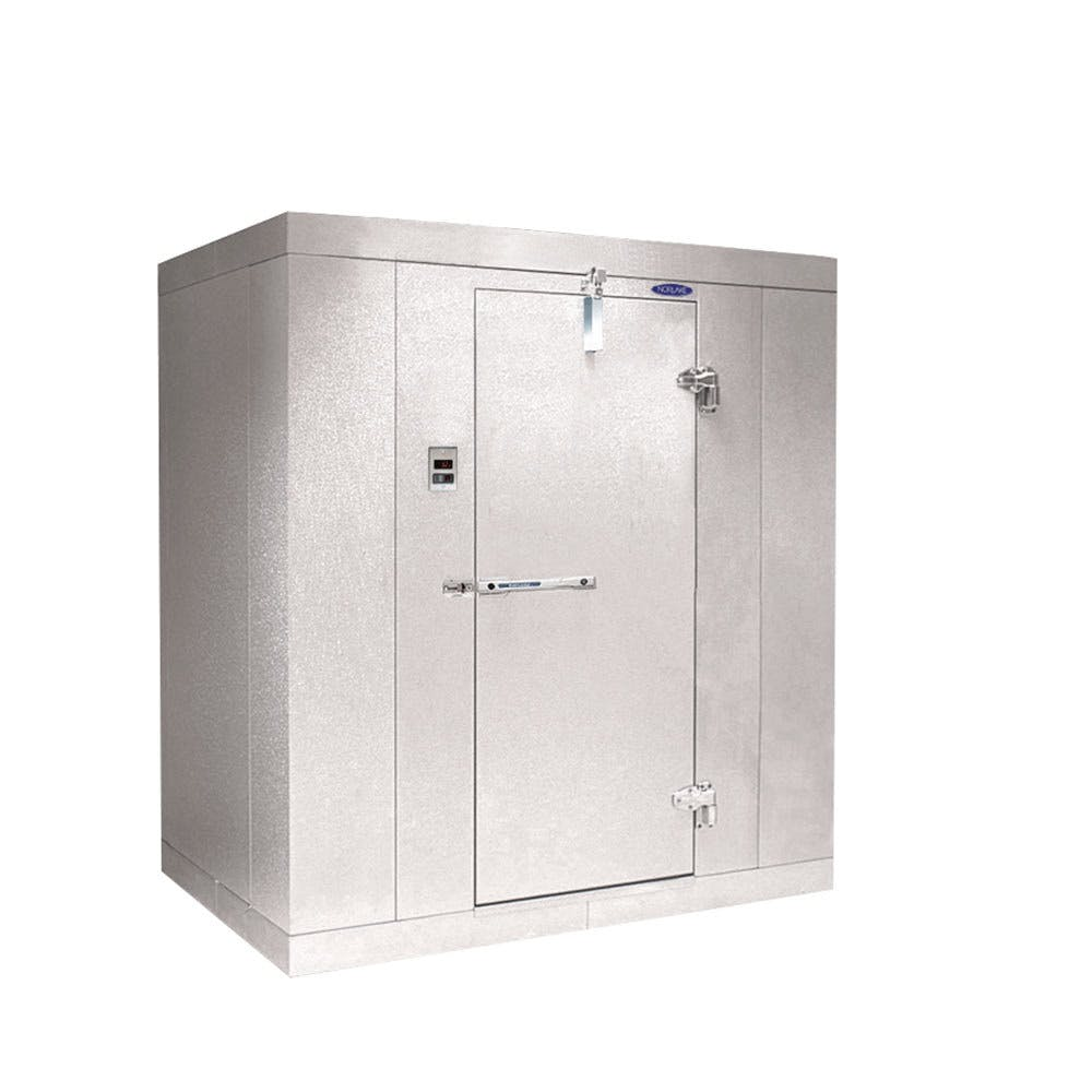 "Nor-Lake Walk-In Cooler 8' x 10' x 7' 4"" Indoor without Floor Walk in cooler sold by WebstaurantStore"