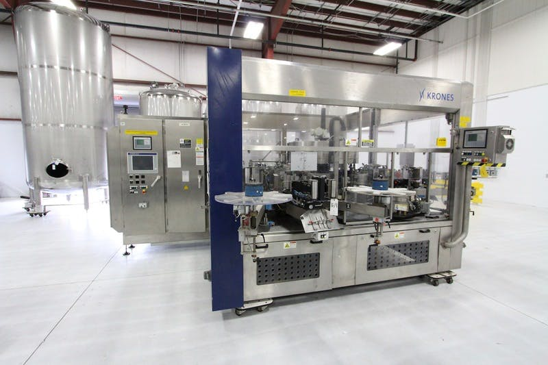 2007 Krones Contiroll Roll Fed Labeler - sold by Beverage Industries