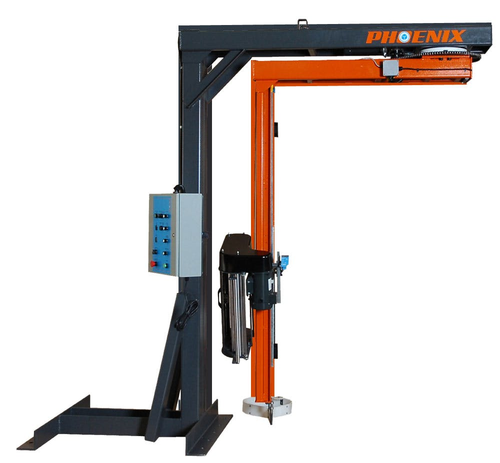 PRTL-2150 Rotary Arm - Phoenix Stretch Wrapper - Semi-Automatic - sold by Package Devices LLC