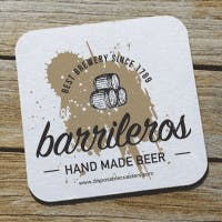 Special Inks Coasters 17 Pt. Drink coaster sold by Disposable Coasters