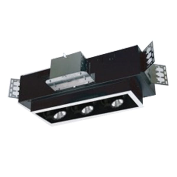 3 Light M Series Multiple Cluster LED Recessed Downlight - Trim Flange - sold by RelightDepot.com