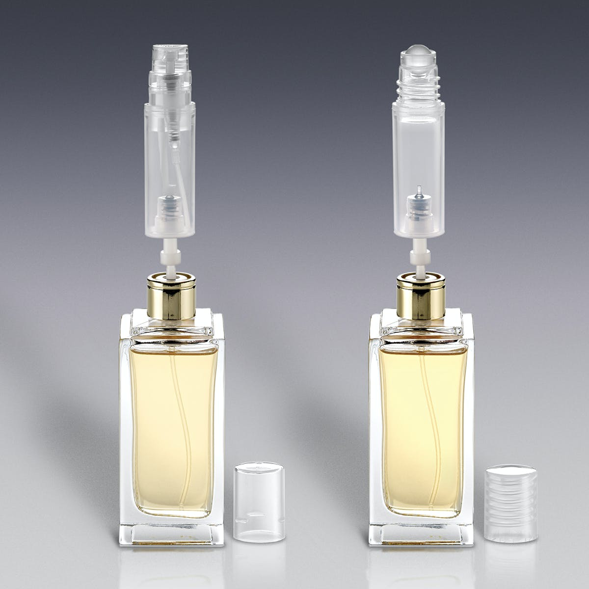Refillable Fragrance Bottles Cosmetics bottle sold by Qosmedix