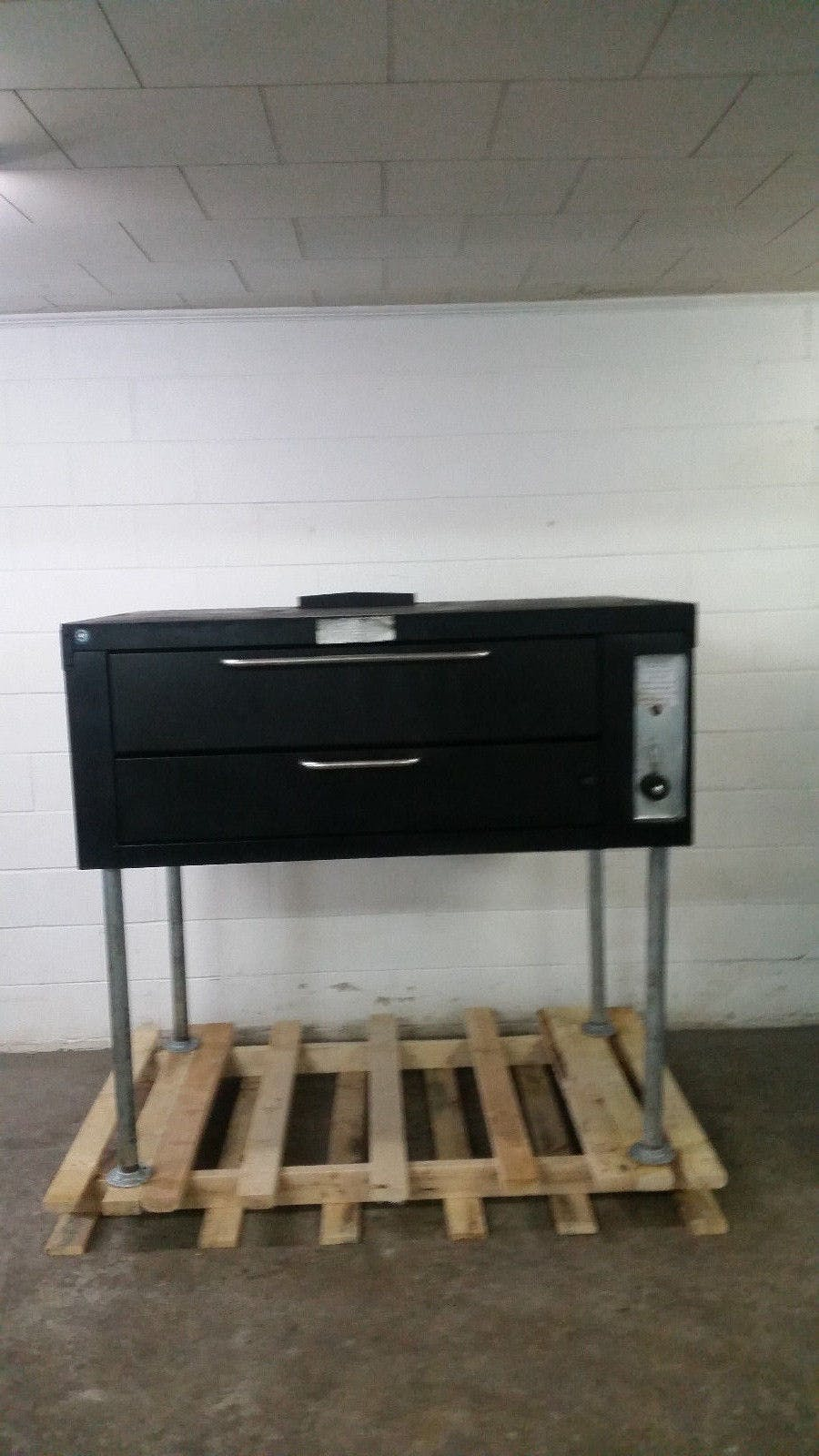 Franklin Chef GP0141A Stone Deck Pizza Oven Tested Natural Gas 65,000 BTU - sold by Jak's Restaurant Supply