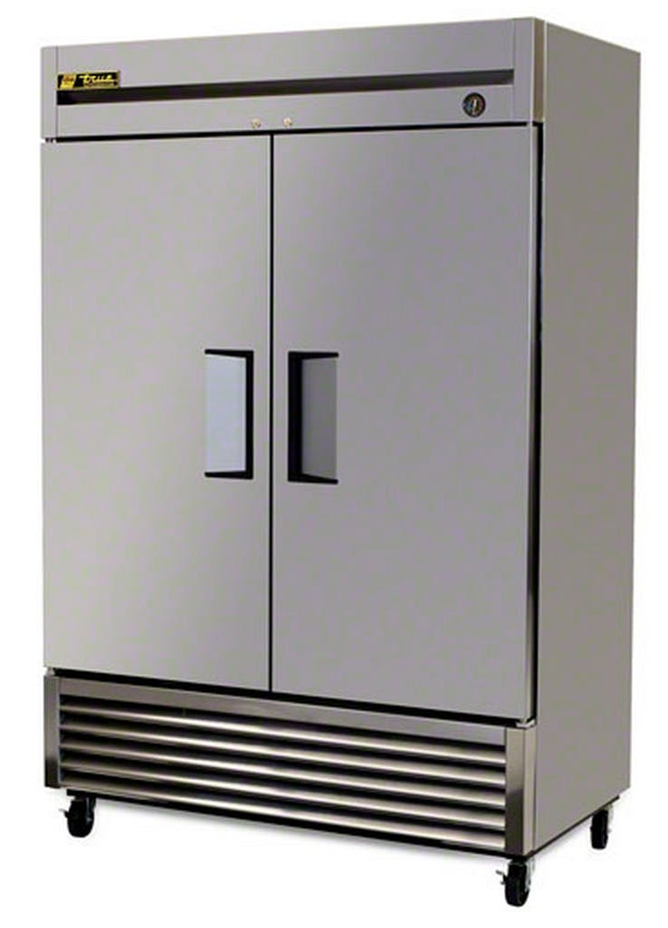 "True (T-49) - 55"" Solid Door Reach-In Refrigerator Commercial refrigerator sold by Food Service Warehouse"