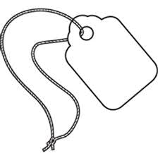 Merchandise tags Hang tag sold by Ameripak, Inc.