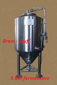 5 BBL Fermentor - sold by BC Packaging Service Brew-Stuff