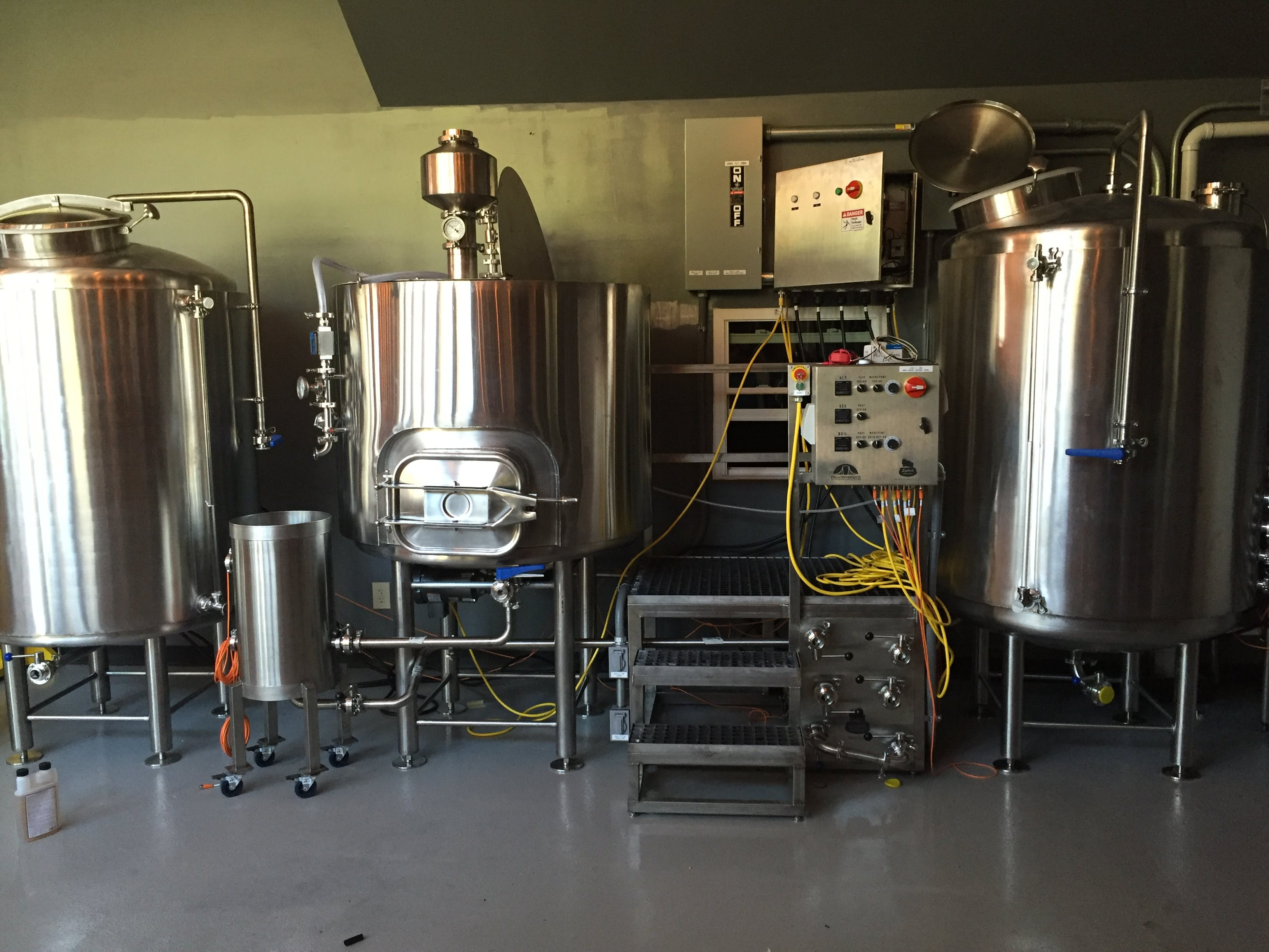 Systech 7BBl Brewhouse Brewhouse sold by Systech Stainless Works, LLC