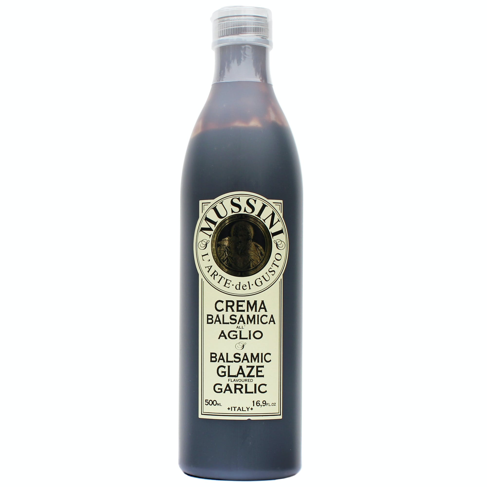 Italian Garlic  Balsamic Glazes From Mussini, 16.9 Ounces Balsamic Vinegar sold by M5 Corporation