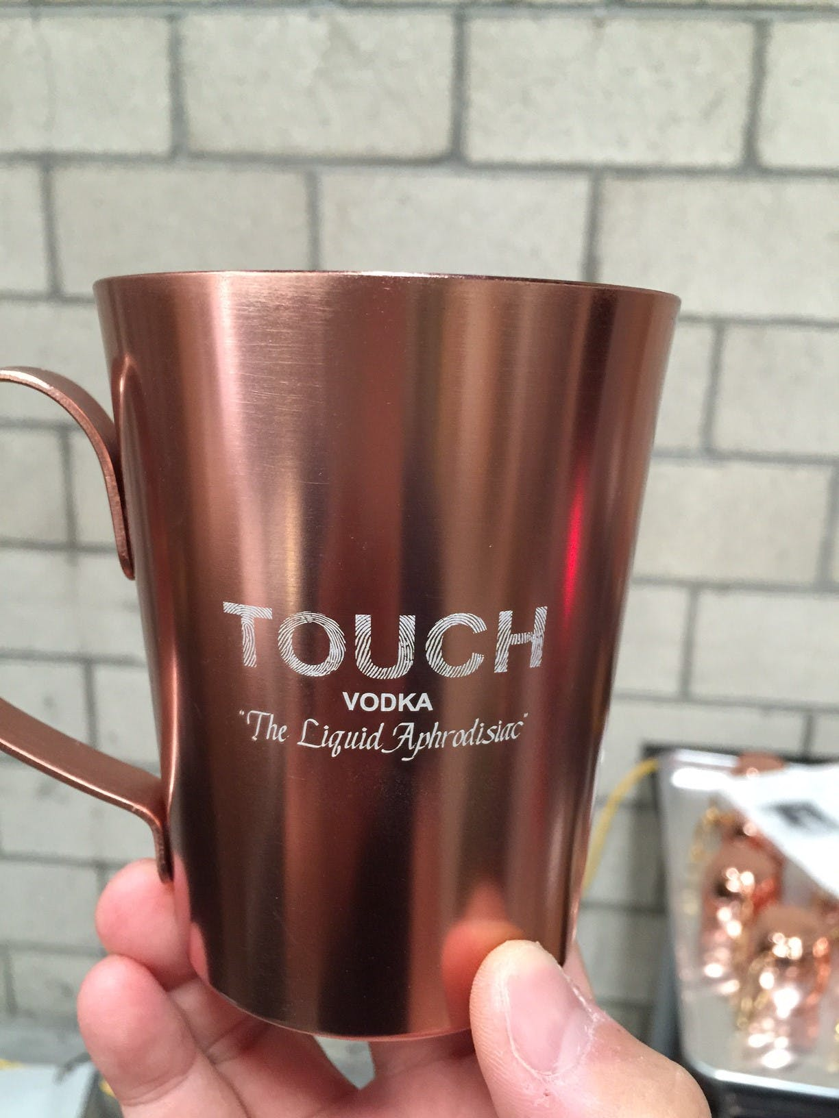 14 oz Rivet Laser Engraved - Moscow Mule Copper Mugs Decorated - Screen Printed or Laser Engraved - Minimum 60/72 pcs. - sold by Circle Star Pro