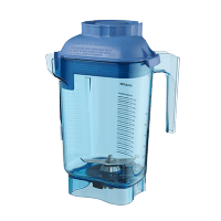 Vitamix 58988 Color Coded 48 oz. Advance Container with Blade Assembly | Blue Blender sold by Prima Supply