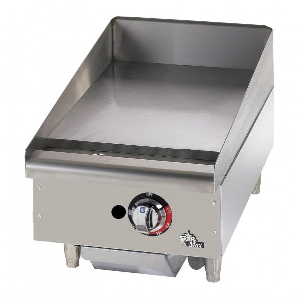 """15"""" NG Commercial Griddle w/ Throttling Thermostat"""