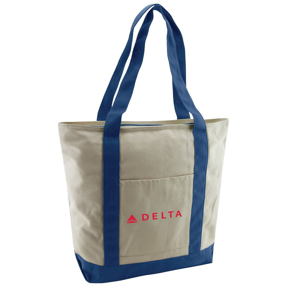 Boat Cotton Tote Bag sold by ARROW PAPER CO
