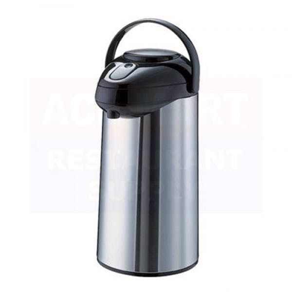 3 L Stainless Airpot w/ Pump Lid