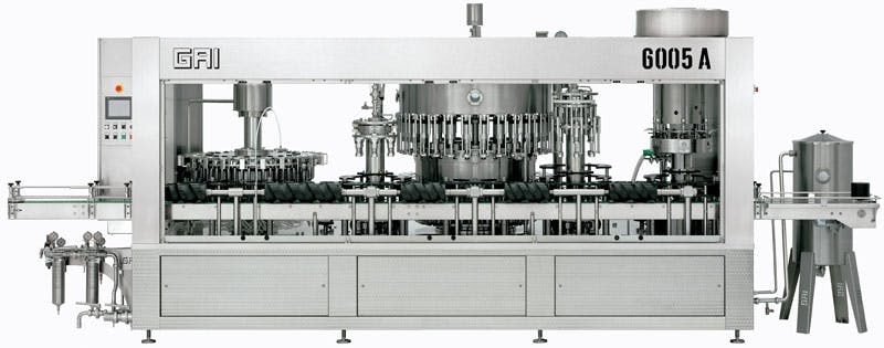 GAI 6005A/32 Bottling machinery Bottling machinery sold by Prospero Equipment Corp.