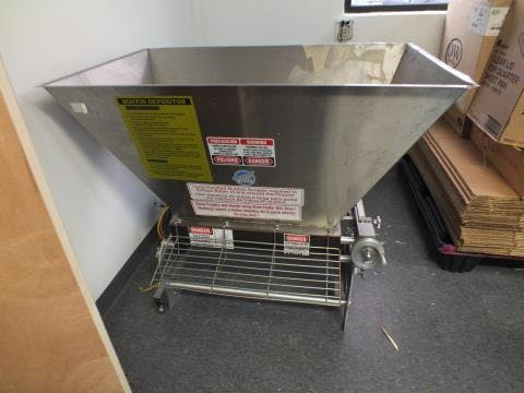 Used Hinds-Bock 5P-08WT Tabletop Depositer - sold by Sigma Packaging