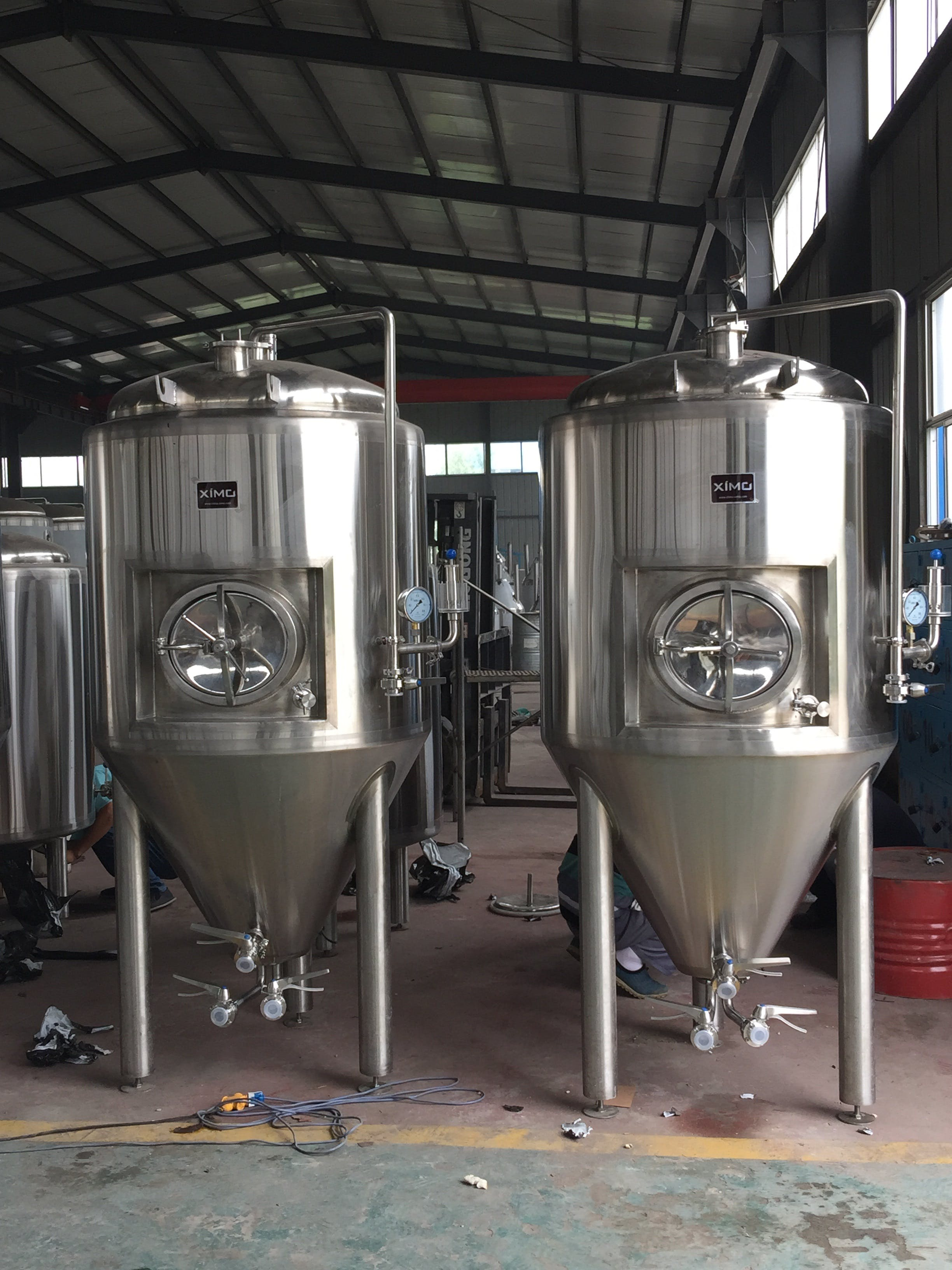 5BBL Jacketed Fermenter (Customizable) Fermenter sold by XIMO USA