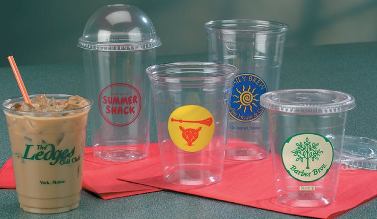 Plastic and Paper Cups Plastic cup sold by The Packaging Source, Inc.