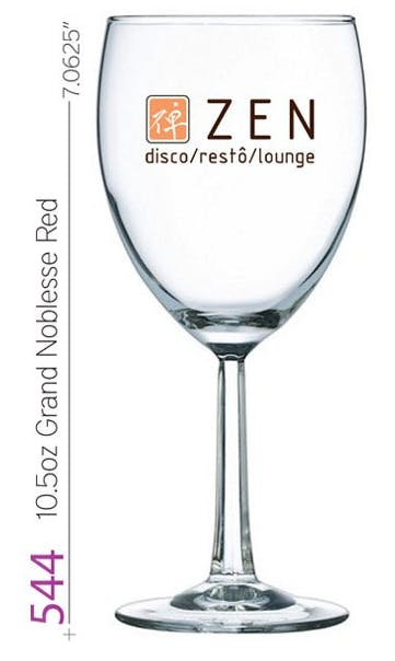 10.5oz Grand Noblesse Red Wine Glass Beer glass sold by G2 I.D. Source