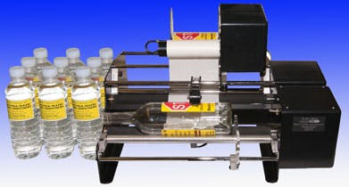 Bottle-Matic - II Bottle labeler sold by Creative Labels Inc.