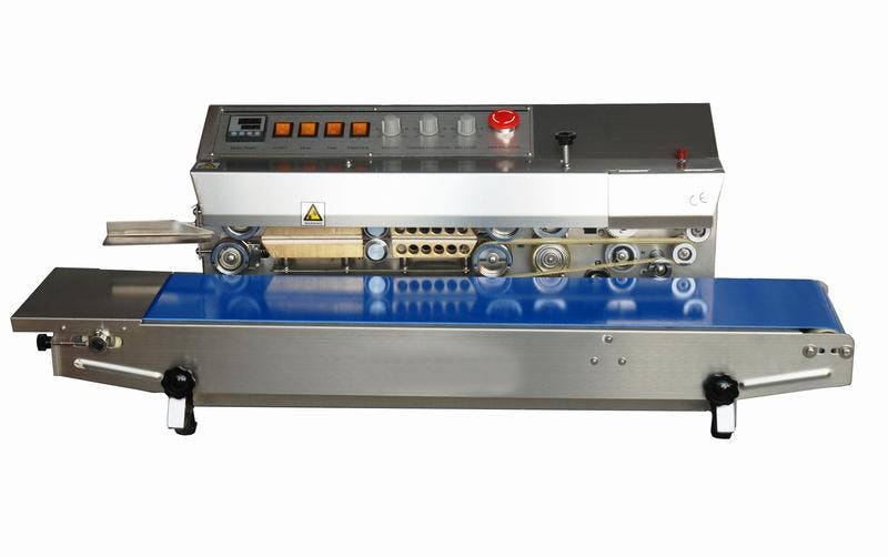HL-M810 Horizontal Dry Ink Coding Band Sealer Bag sealer sold by Sealer Sales