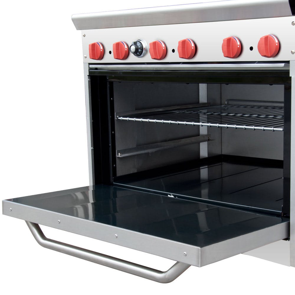 b94b3c3f7fe Cooking Performance Group 36-CPGV-6B-S30 6 Burner Gas Range with 30 ...