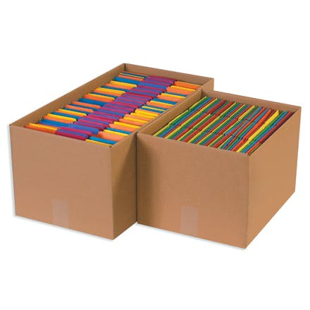 Economy File Storage Kraft Boxes Kraft packaging sold by Ameripak, Inc.